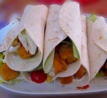 Recette - Wrap au poisson pané - Notée 5/5 par les internautes