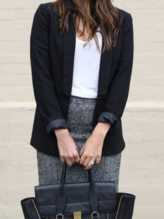 Pin for Later: 8 Interview Basics Every Girl Should Have in Her Wardrobe A Blazer You Can Wear Over Anything