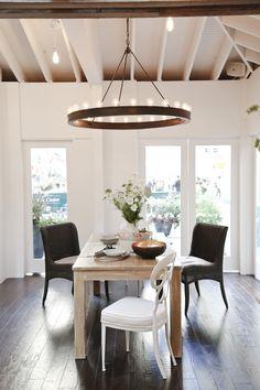 House Beautiful Kitchen of the Year 2012   Ralph Lauren Roark Modular Ring Chandelier
