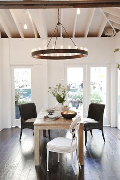 House Beautiful Kitchen of the Year 2012 | Ralph Lauren Roark Modular Ring Chandelier