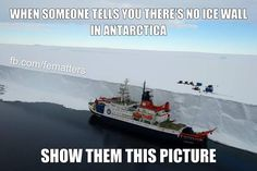Yes and then show them the rest of the pictures from the WEB site source of Neumayer Station Antarctica. Look here -> https://ourworldheritagebe.wordpress.com/2013/06/15/antarctica-3-reaching-the-ice-and-neumayer-station/