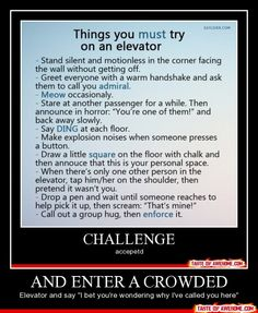 CHALLENGE ACCEPTED!