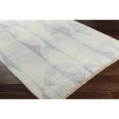Found it at AllModern - Larache Hand-Knotted Neutral/Gray Area Rug