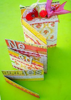 Sandy's Space: Accordian Needlebook (OPP). I really like this needle book. Los of room. This isn't a tutorial but good info.