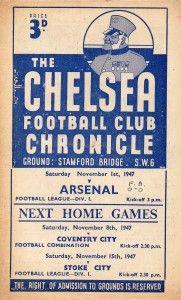 Chelsea programme 1947/48