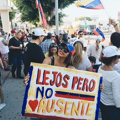 Venezolanos in the U.S. participated as well.