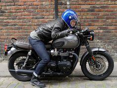 que nous avons pu enfin rouler avec le Triumph Cafe Racer, Cafe Racer Bikes, Triumph Motorcycles, Vintage Motorcycles, Triumph Bonneville T120, Triumph Scrambler, Scrambler Motorcycle, Custom Motorcycle Shop, Custom Bikes