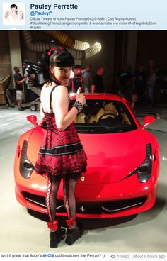 Pauley Perrette Behind the Scenes of NCIS Ncis Abby Sciuto, Pauley Perette, Ncis Gibbs Rules, Ncis Cast, Avatar, Michael Weatherly, Ncis Los Angeles, Riot Grrrl, Best Tv Shows