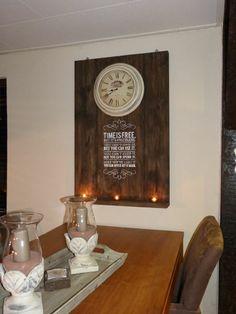 Houten wandbord on pinterest met van and shelves - Deco schilderij gang ...