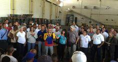 Oswaldo Vera, Ministro para el Trabajo, afirmó que el Gobierno protegerá a los trabajadores de la empresa Kimberly Clark Venezuela, quien recientemente anu