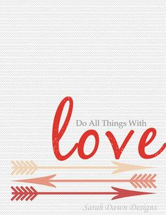 Sarah Dawn Designs: Valentines Day Printable