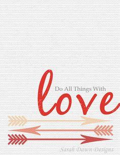 Sarah Dawn Designs: Valentines Day Printable