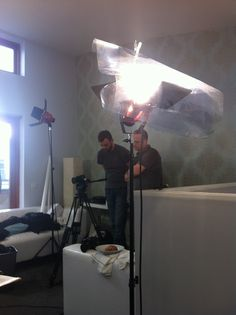 One Productions at a music video shoot for Damien Leith.