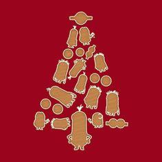 Minions Gingerbread Christmas Tree