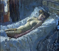 Walter Sickert: Mornington Crescent Nude, 1907