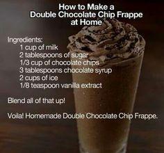 Not really a frappe but still sounds good.