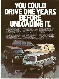 1982 Volvo 240 Ad.