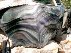 Geology IN: Rainbow Obsidian (Iris Obsidian)