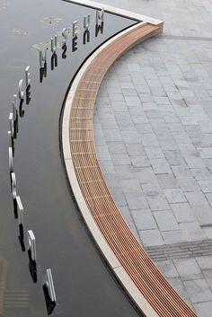 66 Ideas Exterior Signage Beautiful For 2019 Environmental Graphic Design, Environmental Graphics, Detail Architecture, Landscape Architecture, Wayfinding Signage, Signage Design, Web Banner Design, Urban Landscape, Landscape Design