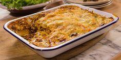 Lasagna with Sugo Funghi