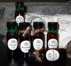 CANDLE ANOINTING OILS   Blessing Oils  by DragonflyMoonLotions, $6.00