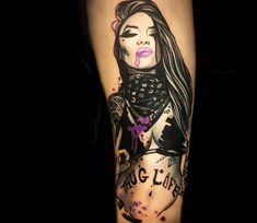 Inked Girl tattoo by Anjelika Kartasheva