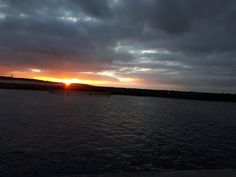 Sunset in Poland