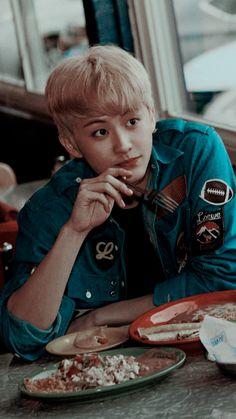 NCT Wallpapers J Pop, Nct 127 Mark, Mark Nct, Lee Min Hyung, Watermelon Baby, Hip Hop, Kpop Aesthetic, Boyfriend Material, Taeyong