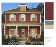 Exterior House Colors With Red Brick modern exterior paint colors for houses | gray exterior houses