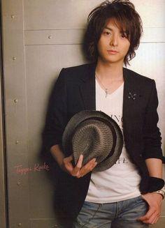 Asian fashion men: Japanese style