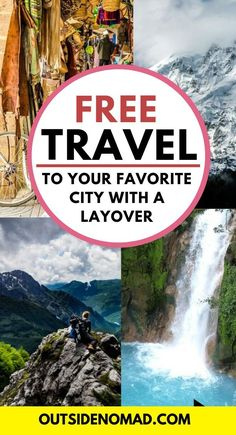 Did you know you can extend you layovers for free? Turn one trip into two with extended layovers and stopovers. This is one of the greatest free travel hacks that nobody is doing. Europe Travel Tips, Travel Hacks, European Travel, Travel Destinations, Budget Travel, Travel Guide, Europe Packing, Traveling Europe, Backpacking Europe