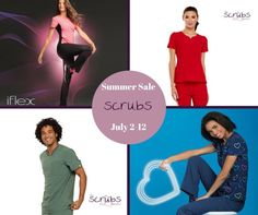 """803be48fc77 And that means it's time for The Scrubs Boutique's 2018 Summer Sale July  2-12 only!😎 *Infinity Scrubs BOGO 40% Off! *iFlex…"""""""