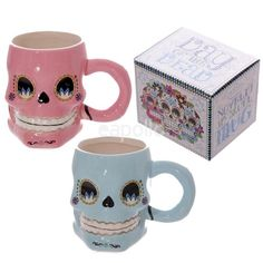 Cheap cup ceramic, Buy Quality cup skull directly from China cup fish Suppliers: Cool Skull Drinking Ceramic Mug Cup Scraggy Zombie Caneca Copo Drinks Coffee Porcelain Mug with Retail Gift Box Crane, Halloween Mug, Halloween 2016, Day Of The Dead Skull, Ceramic Coffee Cups, Candy Skulls, Skull Decor, Porcelain Mugs, Mug Cup