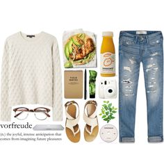 Vorfreude by cigerett on Polyvore featuring мода, Alexander Wang, Abercrombie & Fitch, Chloé, Aesop, IDEA International and KEEP ME