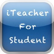 iStudent (free).... iTeacher ($4.99/month subscription)  Send/receive/grade things iPad to iPad with class.  This could be great for class set of iPad implementation.  BUT... subscription rate with no funding?  THAT could be BAD.