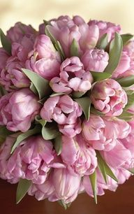 frilly pink bouquet