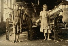 1911--Child labor--spinners in a cotton mill...