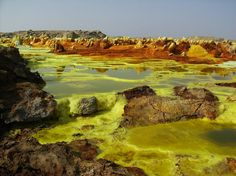Dallol - Ethiopia   40 places you must see to believe!