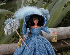 Northern Belle Dolls by Kim Burie - 1790 English Country Costume  .........46.4.16 qw