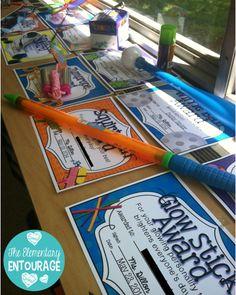 Super fun and creative end of the school year awards and gifts for students