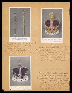 Althea Hurst scrapbook, 1938. Tower of London