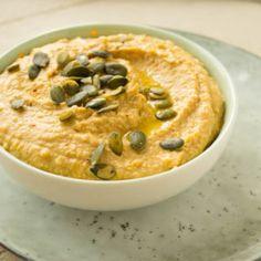 Gezonde Pompoen Hummus met Komijnzaad