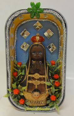 Oratório de Nossa Senhora Infantil - Latinha de sardinha