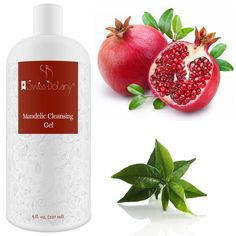 Mandelic Facial Cleansing Gel aids in exfoliating the skin and encouraging skin cell renewal while being non-irritating. Cleansing Gel, Facial Cleansing, Mandelic Acid, Types Of Acne, Alpha Hydroxy Acid, Uneven Skin, Face Skin Care, Face Cleanser, Best Face Products