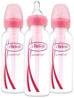 Dr Browns Options Narrow Bottles 3 Pack 8 ounce Pink -- Read more  at the image link.Note:It is affiliate link to Amazon.