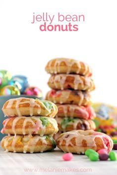 Jelly Bean Donuts   Melanie Makes melaniemakes.com
