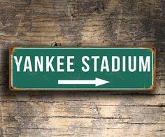 Yankee Stadium Sign