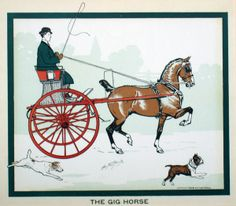 The Gig Horse by George Ford Morris