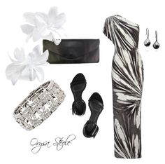 """""""Island Evening"""" by orysa ❤ liked on Polyvore featuring Givenchy, Clips, Fernando Jorge, Cartier and styled by orysa"""