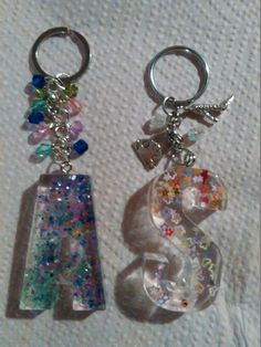 A few keyrings ready for future craft fairs